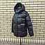 Короткая модная зимняя куртка с капюшоном, фото 9