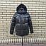 Короткая модная зимняя куртка с капюшоном, фото 10