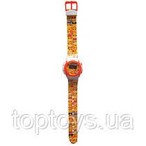 Годинники цифрові TBL Turbo Emojis Жовто-білі (EMJ30740)