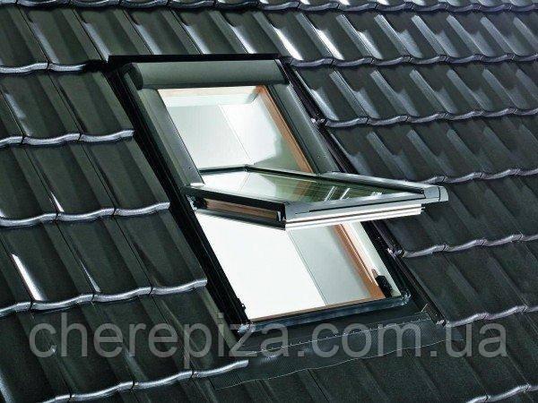 Вікно мансардне Designo WDF R69P H N WD AL 09/11