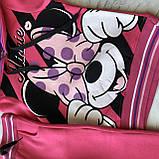 Теплый спортивный костюм на девочку с начесом  399. Размер  110 см, фото 4