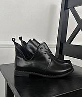 Кожаные полуботинки на болтах, фото 1