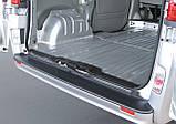 Пластиковая защитная накладка на задний бампер для Renault Trafic 2006-2014, фото 2
