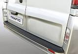 Пластиковая защитная накладка на задний бампер для Renault Trafic 2006-2014, фото 3