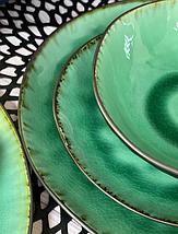 Тарілка OLens Зелена лагуна JM-1004 21 см, фото 3