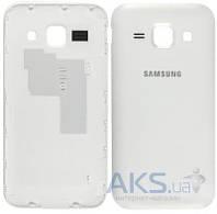 Задняя часть корпуса (крышка аккумулятора) Samsung J100H Galaxy J1 Original White