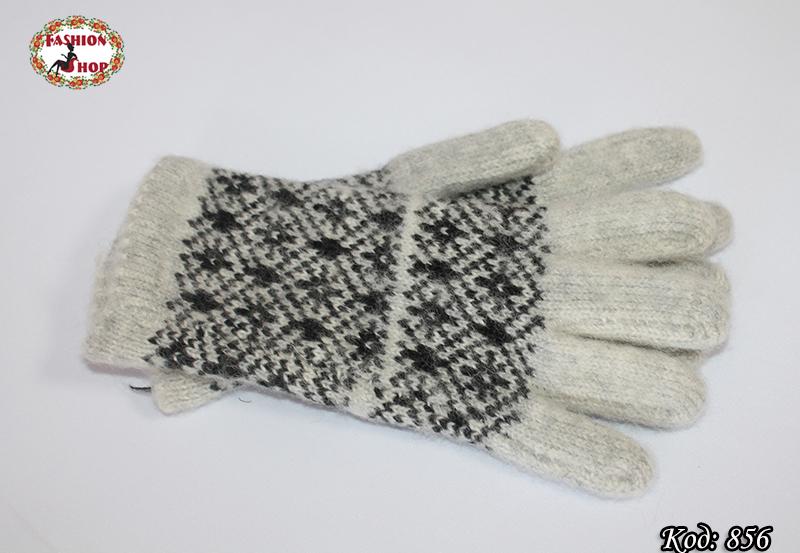 Женские шерстяные перчатки Силестия