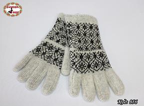 Женские шерстяные перчатки Силестия, фото 3