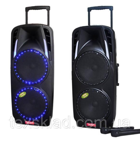 Мощный комбик с микрофонами A73 Bluetooth, FM