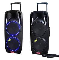 Мощный комбик с микрофонами A73 Bluetooth, FM, фото 1