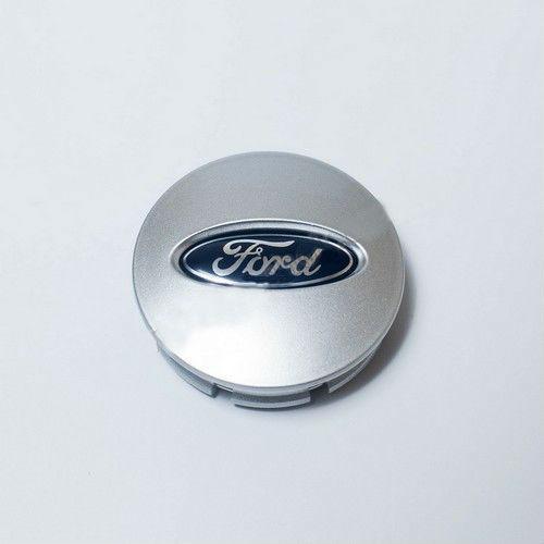 Колпачки в легкосплавные диски Ford серебро BB53-1A096-RA / 3F23-1A096-DC (66 мм)