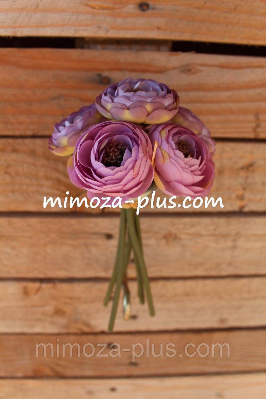 Искусственные цветы - Камелия пучок
