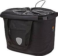 Велосипедна сумка на клік ємністю 20 л, чорний, фото 1
