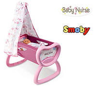Оригинал. Колыбель Кроватка для куклы Baby Nurse Smoby 220301