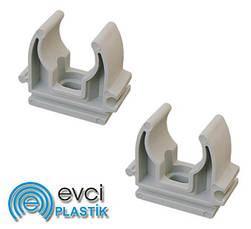 Полипропиленовые крепления для труб Evci Plastik