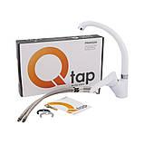 Смеситель для кухни Q-tap Eris WHI 007, фото 5