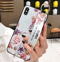 Чехол Flower Rope Case для Samsung Galaxy А11 А115 white (Самсунг А115), фото 1