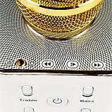 РАСПРОДАЖА!!! Караоке Микрофон Tuxun Q7 ЗОЛОТО в коробке, фото 6