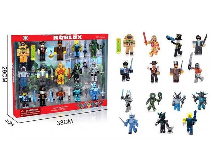 Набір іграшкових фігурок героїв Roblox 1863