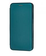 Чехол-книжка Level для Huawei P40 Lite E Midnight green (хуавей п40 лайт е)