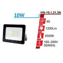 Прожектор RIGHT HAUSEN STANDARD LED 10W 6500K IP65 Чорний HN-191212
