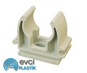 Кріплення для труб Evci Plastik 20 поліпропіленове