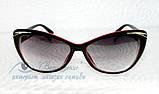 Окуляри жіночі для зору, з діоптріями +/-, сонцезахисні. Код:1095, фото 3