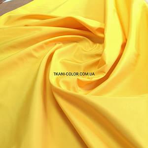 Ткань плащевка на основе президент желтый