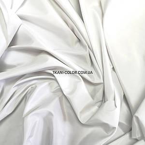Ткань плащевка на основе президент белый