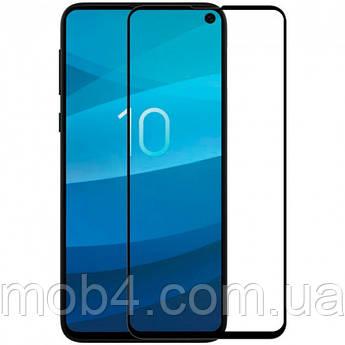 Захисне скло для Samsung Galaxy (Самсунг) A91 (На весь екран)