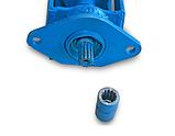 Угловой редуктор для фрезы (переходник карданный для фрезерного культиватора) Усиленый, фото 2
