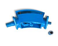 Угловой редуктор для фрезы (переходник карданный для фрезерного культиватора) Усиленый