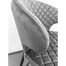 Полубарный стул Keen велюр стил грей TM Concepto, фото 3
