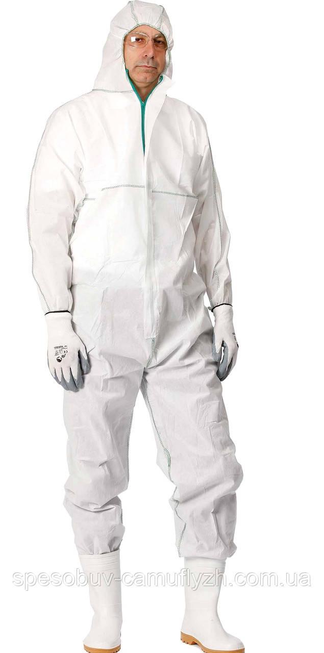 Защитный комбинезон химический с капюшоном CHEMSAFE  Польша  XL, и 2Х