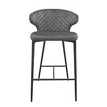 Барный стул Keen велюр стил грей TM Concepto, фото 2