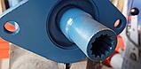 Угловой редуктор для фрезы (переходник карданный для фрезерного культиватора) Усиленый, фото 6