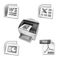 Печать (распечатка) черно-белая цена Днепр