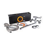 Смеситель для ванны Q-tap Mix CRM 140K, фото 4