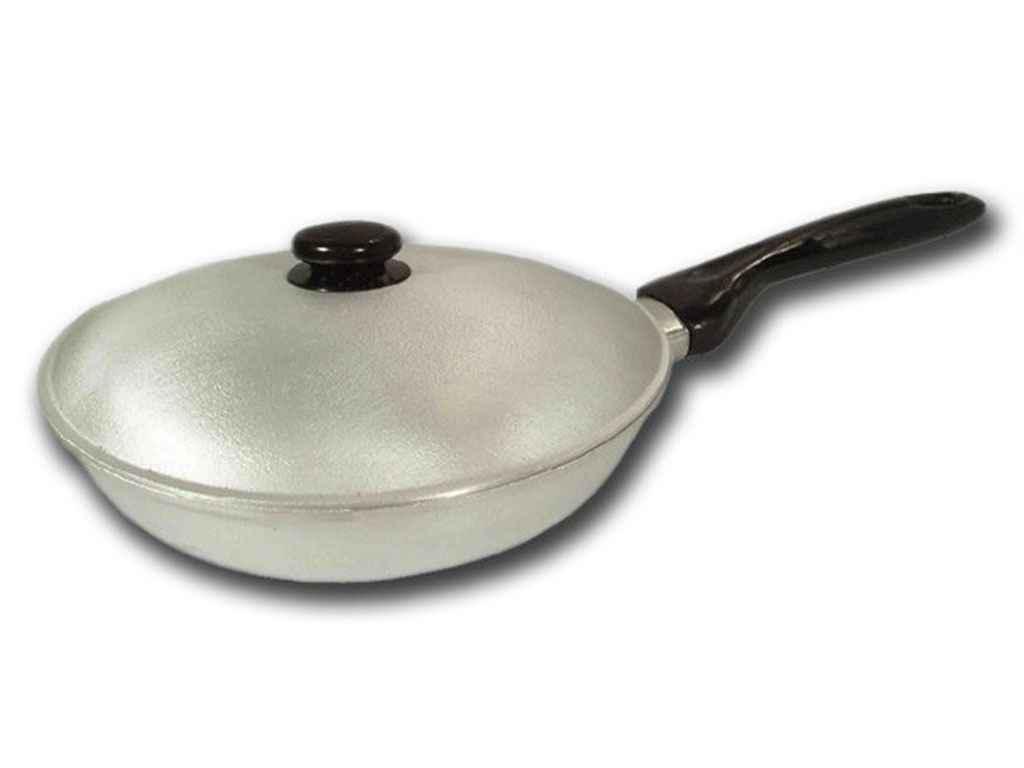 """Сковорода алюмінієва d=180 мм з кришкою """"Дако"""""""