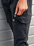 Женские карго брюки BEZET Eva gray '20, женские серые карго брюки, фото 4