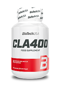 Конъюгированная линолевая кислота BioTech CLA 400 (80 капс) биотеч цла