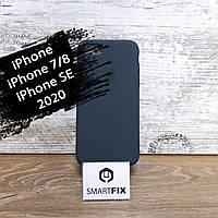 Силиконовый чехол для iPhone 7 / iPhone 8 / iPhone SE 2020 Full Soft Темно-зеленый, фото 1