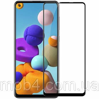 Захисне скло для Samsung Galaxy (Самсунг) A21 (На весь екран)