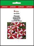 Семена петуния многоцветковая Ламбада 100 шт Hem Zaden Голландия Красная звезда, фото 2