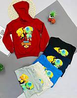 Толстовка кофта реглан для мальчика или девочки на осень в школу Brawl Stars Бравл Старс