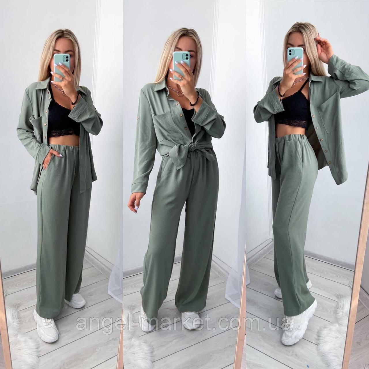 Женский костюм рубашка+брюки,женские костюмы,,Новинка 2020