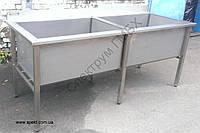 Мойка для ящиков двойная 2000х750х850