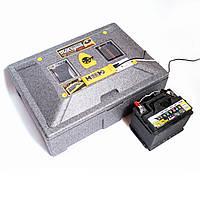 Теплуша ПРО 72 ИБ 12/50 ТАВ. Инкубатор c питанием 12В, автоматический инверторный со встроенным гигрометром.