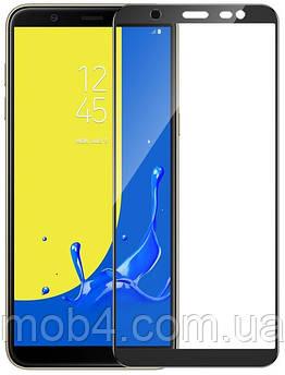 Захисне скло для Samsung Galaxy (Самсунг) J8 2018 (на весь екран)