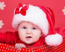 Дитячі новорічні шапочки.